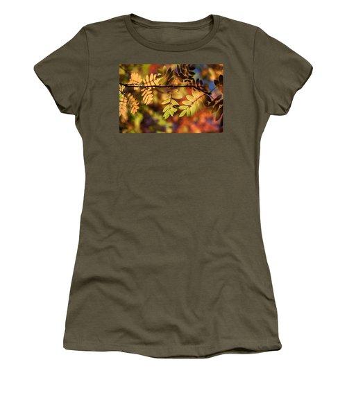 Paint  Women's T-Shirt (Junior Cut) by Aaron Aldrich