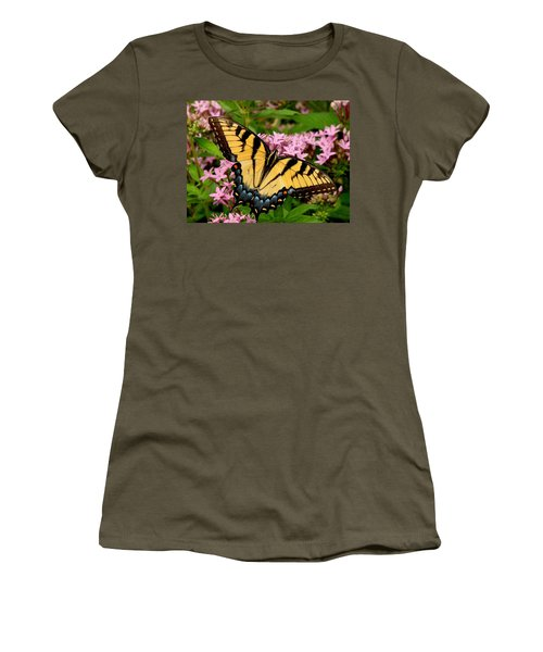 Painted Wings Women's T-Shirt (Athletic Fit)