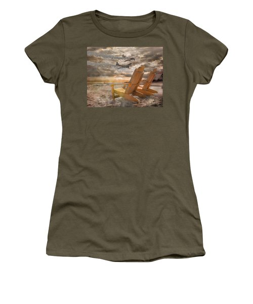 Pairs Along The Coast Women's T-Shirt