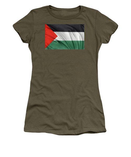 Palestine Flag Women's T-Shirt (Athletic Fit)