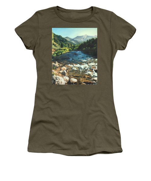 Palisades Creek  Women's T-Shirt