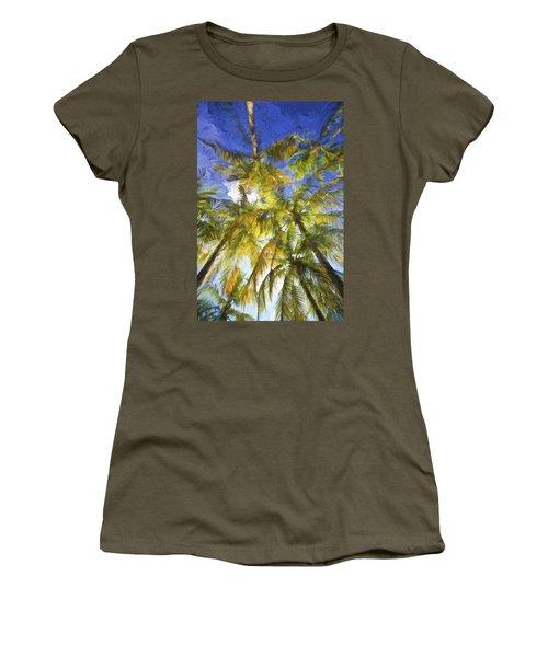 Palm Trees Of Aruba Women's T-Shirt