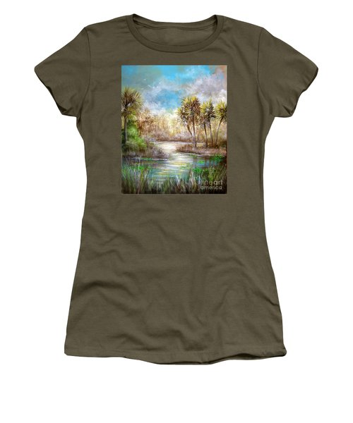 Paradise Women's T-Shirt (Junior Cut) by Patrice Torrillo