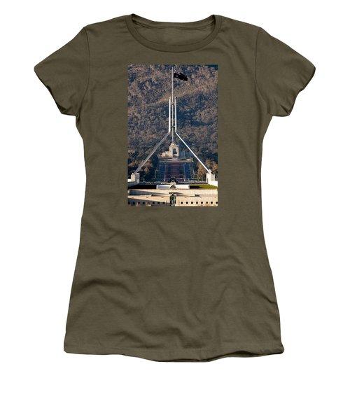 Parliament And War Memorial Australia Women's T-Shirt