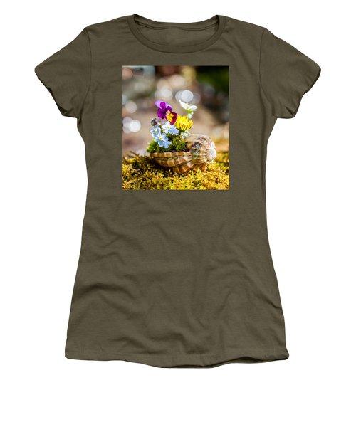 Patterns In Nature Women's T-Shirt (Junior Cut) by Aaron Aldrich