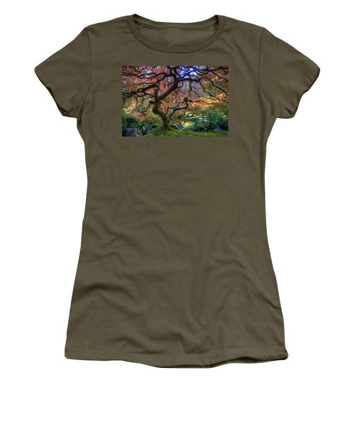 Peaceful Autumn Morning Women's T-Shirt (Athletic Fit)