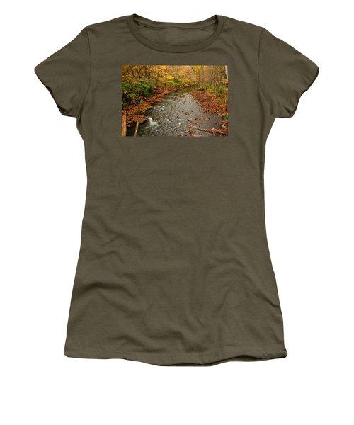 Peaceful Fall Women's T-Shirt