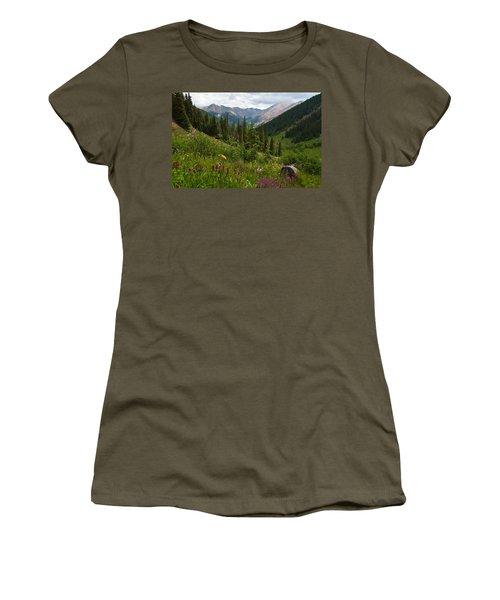 Peaceful San Juans Summer Women's T-Shirt