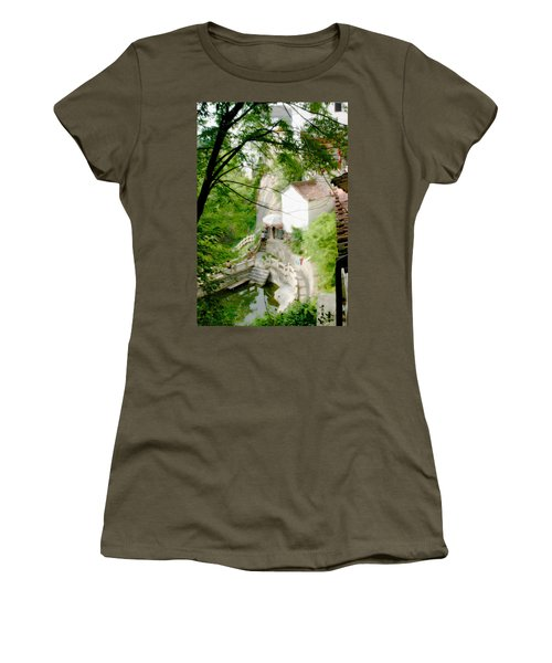 Peaceful Spot In China Women's T-Shirt (Athletic Fit)