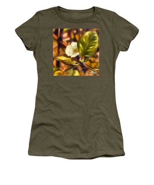 Pear Blossom Women's T-Shirt (Athletic Fit)