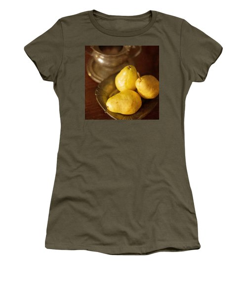 Pears And Great Grandpa's Silver Women's T-Shirt