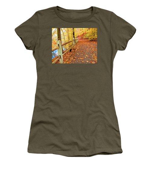 Pennypack Trail Philadelphia Fall Women's T-Shirt
