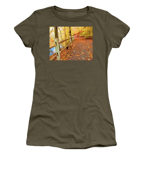 Pennypack Trail Philadelphia Fall Women's T-Shirt