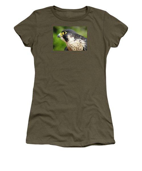 Women's T-Shirt (Junior Cut) featuring the photograph Peregrine Falcon by Cynthia Guinn