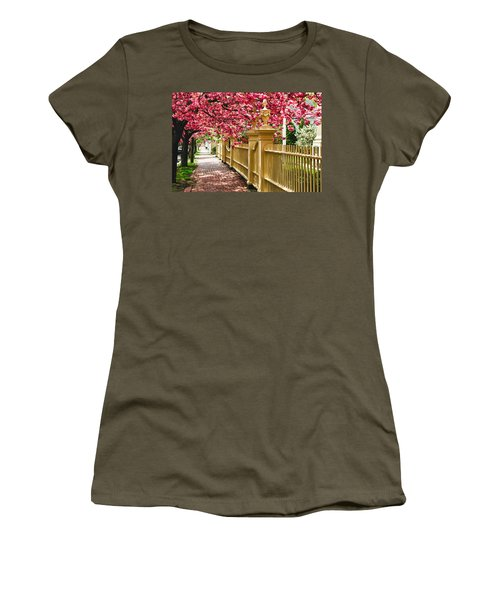 Perfect Time For A Spring Walk Women's T-Shirt