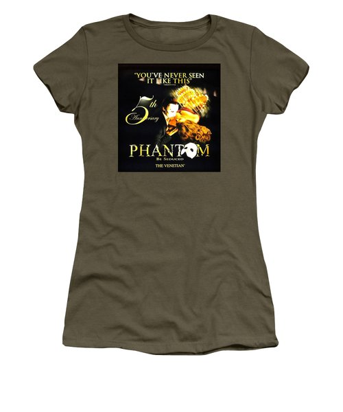 Phantom At The Venetian Women's T-Shirt (Athletic Fit)