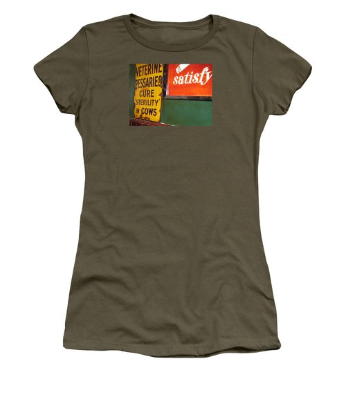 Women's T-Shirt (Junior Cut) featuring the photograph Phil Carrolls by Suzanne Oesterling
