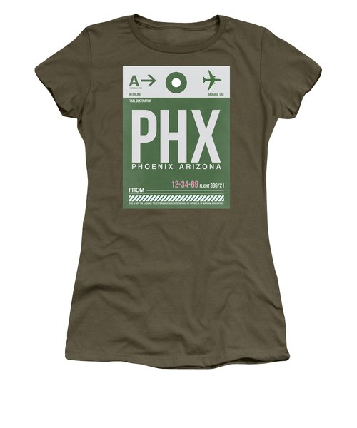 Phoenix Airport Poster 2 Women's T-Shirt (Athletic Fit)