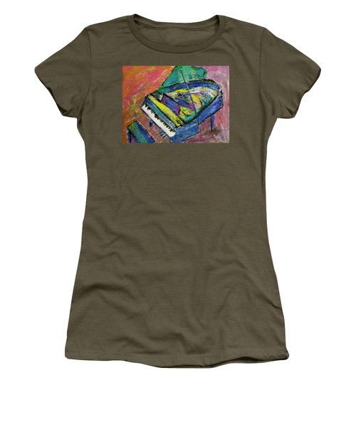 Piano Blue Women's T-Shirt