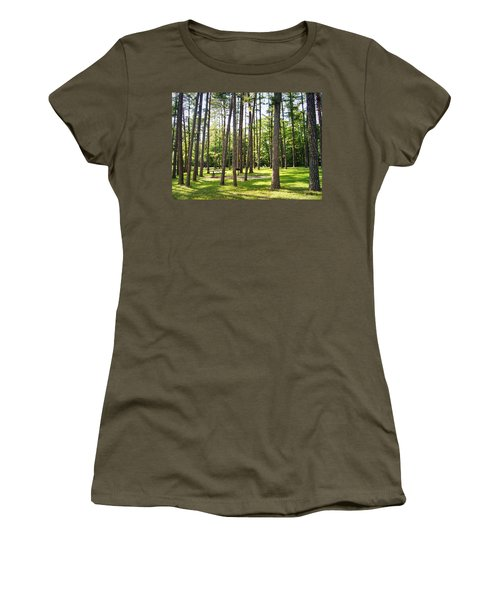 Picnic In The Pines Women's T-Shirt