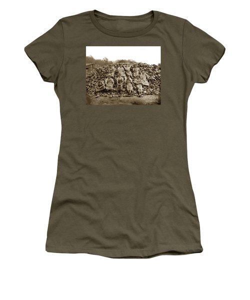 Pierce Brothers Abalone Morro Bay Circa 1925 Women's T-Shirt