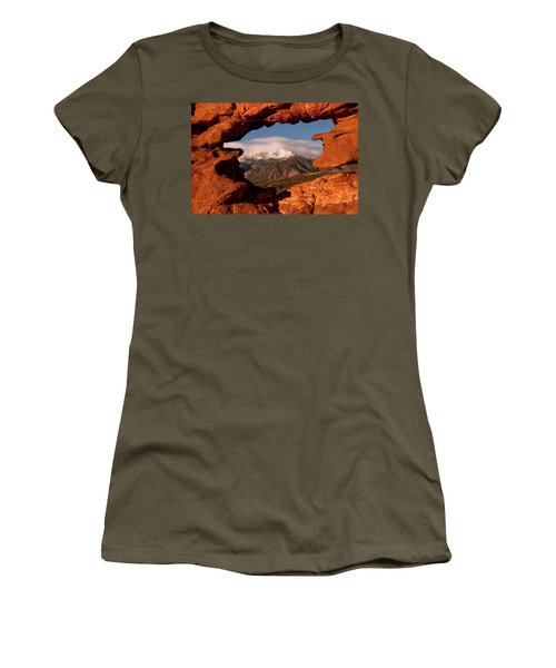 Pikes Peak Framed Women's T-Shirt