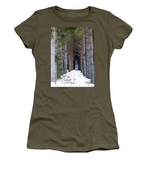 Pine Cathedral Women's T-Shirt