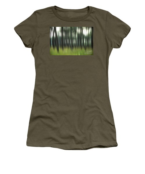 Pine Forest.blurred Women's T-Shirt