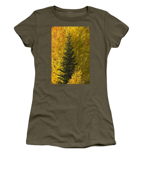 Pine In Aspens Women's T-Shirt (Athletic Fit)