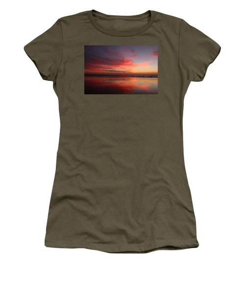 Ocean Sunset Reflected  Women's T-Shirt