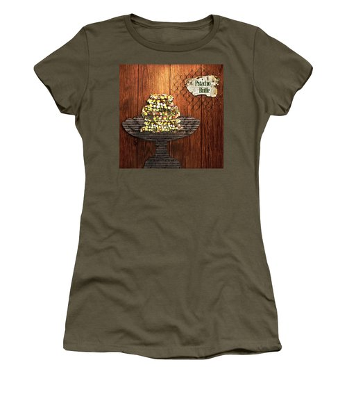 Pistachio Brittle Women's T-Shirt (Athletic Fit)