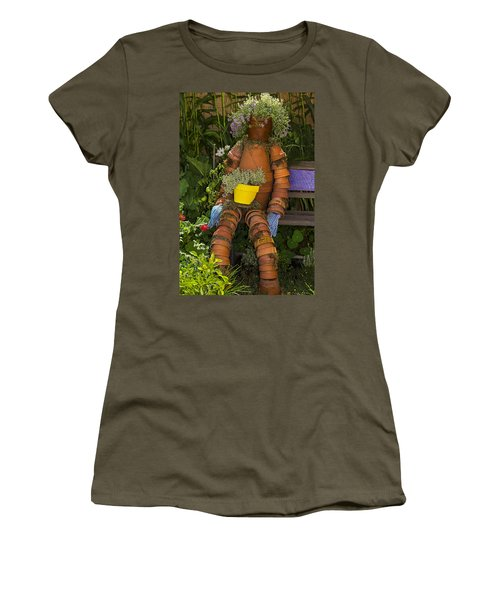 Planter Pot Man Women's T-Shirt