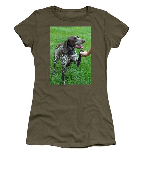 Women's T-Shirt (Junior Cut) featuring the photograph Pleased To Meet You by Lisa Phillips