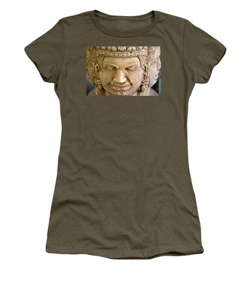 Women's T-Shirt (Junior Cut) featuring the photograph Pleasure Anger Sorrow Joy by Lehua Pekelo-Stearns