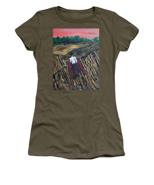 Plow Til' Dawn Women's T-Shirt