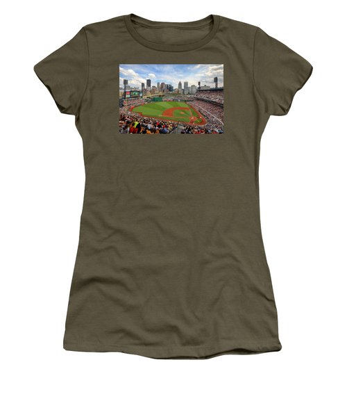 Pnc Park 2014 Women's T-Shirt (Athletic Fit)