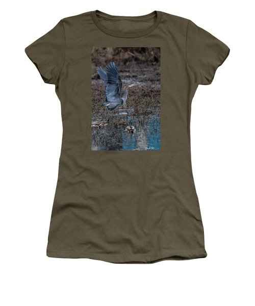 Poised For Flight Women's T-Shirt