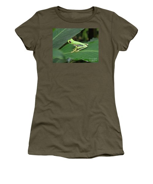 Poison Dart Frog Women's T-Shirt (Athletic Fit)