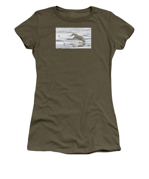Polar Bear Jumping  Women's T-Shirt