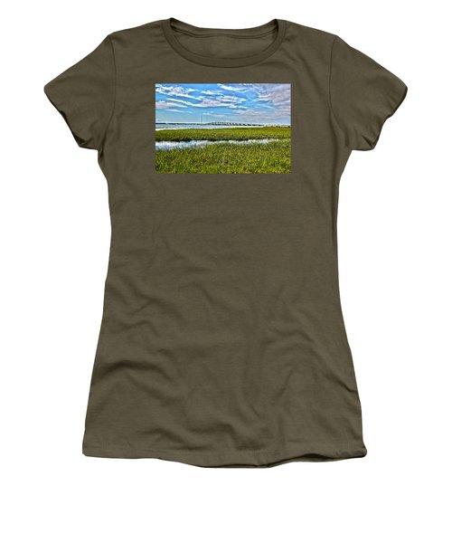 Ponquogue Bridge Women's T-Shirt