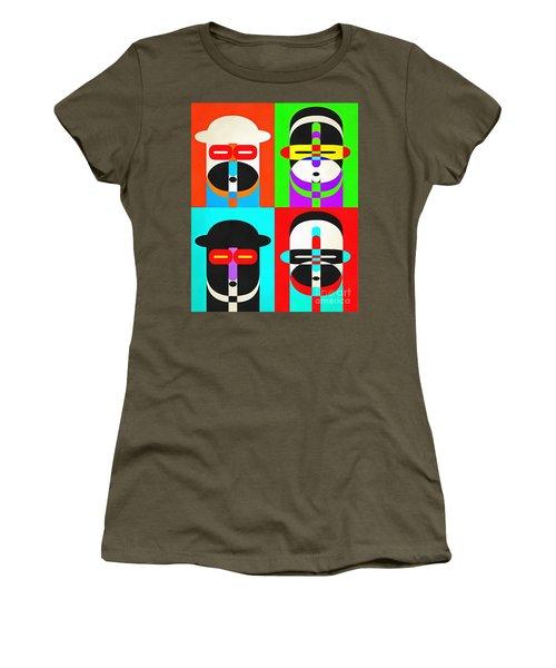 Pop Art People Quattro Women's T-Shirt