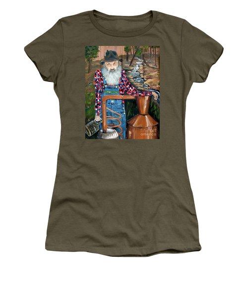 Popcorn Sutton - Bootlegger - Still Women's T-Shirt (Athletic Fit)