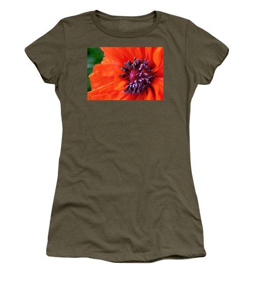Poppy's Purple Passion Women's T-Shirt