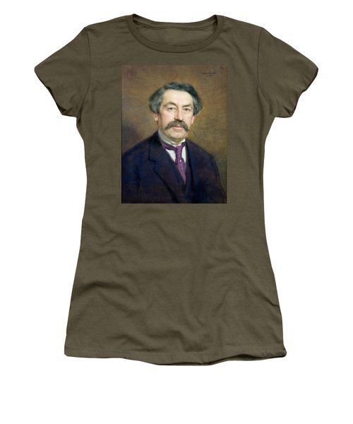Portrait Of Aristide Briand 1862-1932 1916 Pastel On Paper Women's T-Shirt