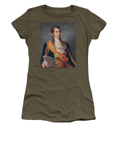 Portrait Of Prince Eugene De Beauharnais 1781-1824 Viceroy Of Italy And Duke Of Leuchtenberg Women's T-Shirt