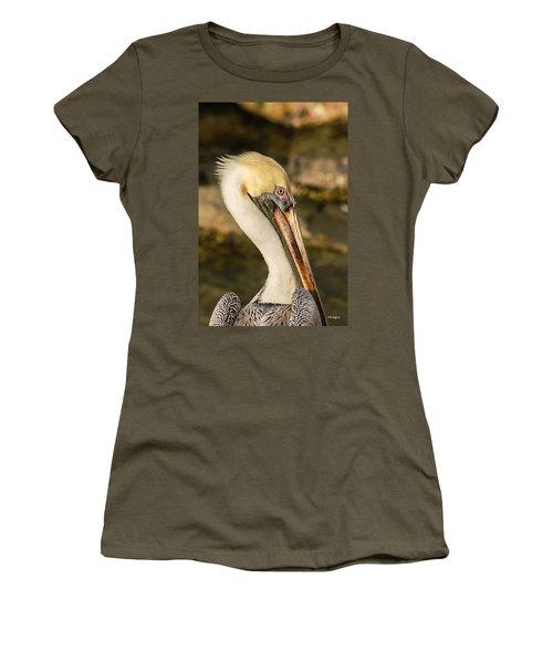 Posing Pelican Women's T-Shirt