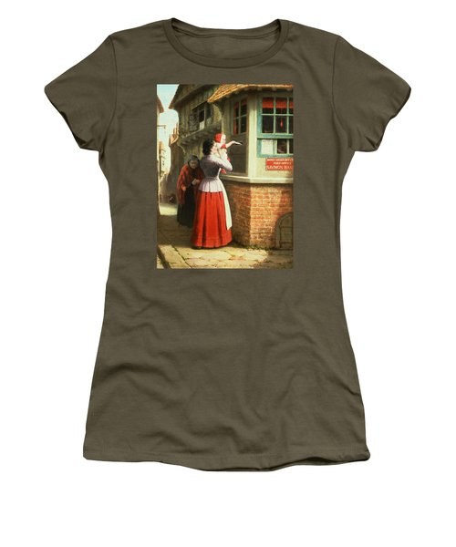 Posting A Letter, 1879 Women's T-Shirt
