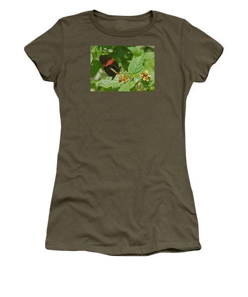 Postman Butterfly 1 Women's T-Shirt (Junior Cut) by Rudi Prott