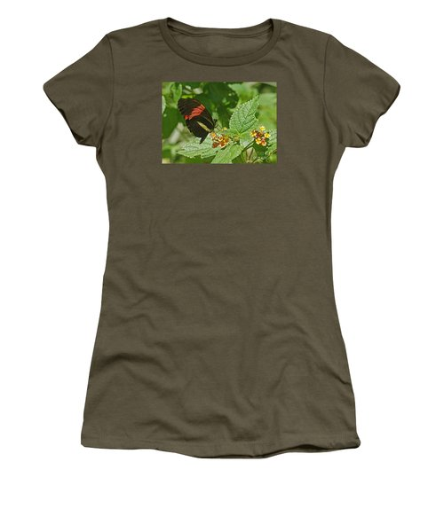 Postman Butterfly 1 Women's T-Shirt (Athletic Fit)