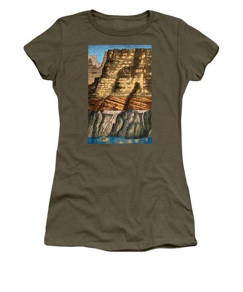 Precambrian And Paleozoic Strata Women's T-Shirt